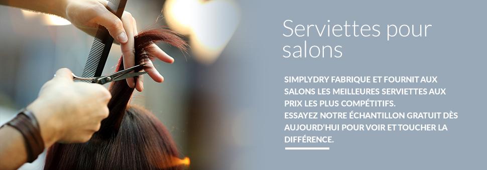 SERVIETTES POUR SALONS SIMPLYDRY